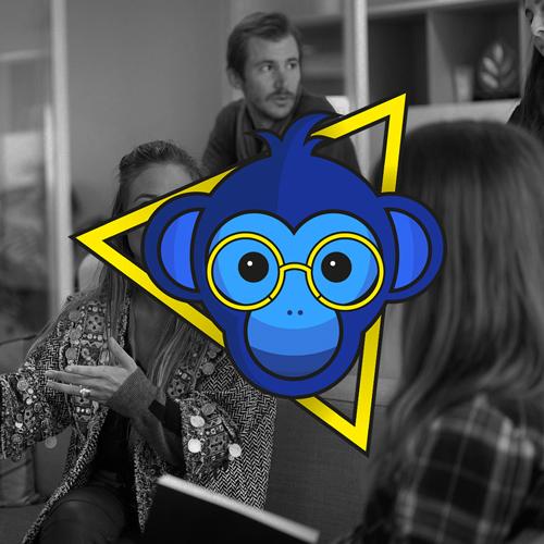 logo les singes bleus